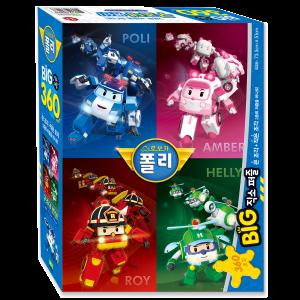 BIG 360 직소 퍼즐 - 구조대 변신!
