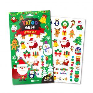 타투 스티커 4 - 크리스마스